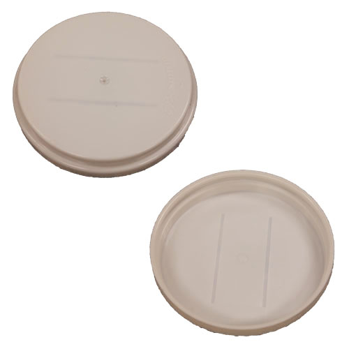 "2"" Rieke snap on plastic cap seal for TH plastic drum"