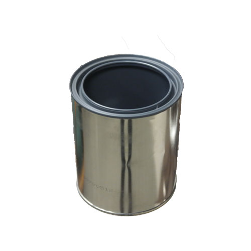 small steel container
