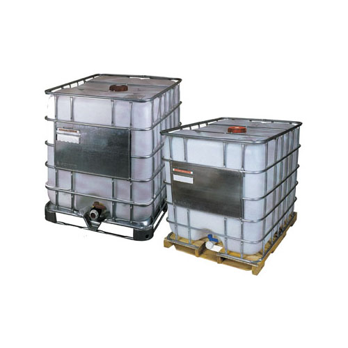 220gal Tote available with metal, plastic, or wood pallet